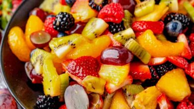 Photo of Easy Fresh Fruit Salad – Spend With Pennies
