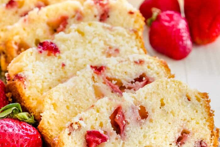 Strawberry Bread - Spend With Pennies