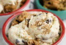 Photo of Cookie Dough Ice Cream (No Churn)