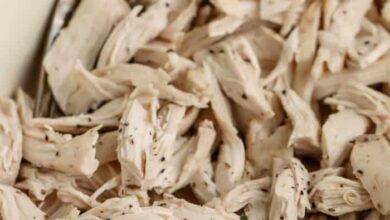 Photo of How to Make Shredded Chicken (easy!!)