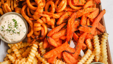 Photo of Air Fryer Frozen French Fries
