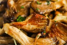 Photo of Garlic Butter Oyster Mushrooms – Spend With Pennies