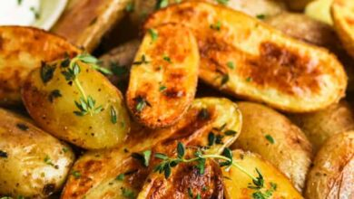 Photo of Oven Baked Fingerling Potatoes – Spend With Pennies