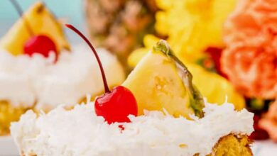 Photo of Pina Colada Cake – Spend With Pennies