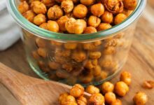 Photo of Spiced Air Fryer Chick Peas