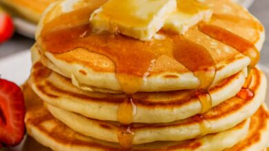 Photo of Fluffy Buttermilk Pancakes – Spend With Pennies